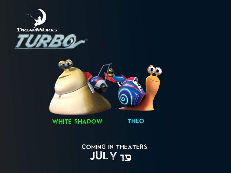 Dreamworks Turbo New Poster