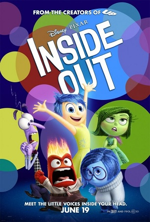 Inside Out 2015 film poster