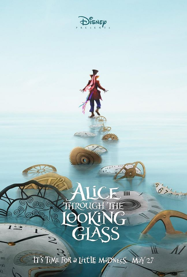 Alice Through the Looking Glass Mad Hatter poster