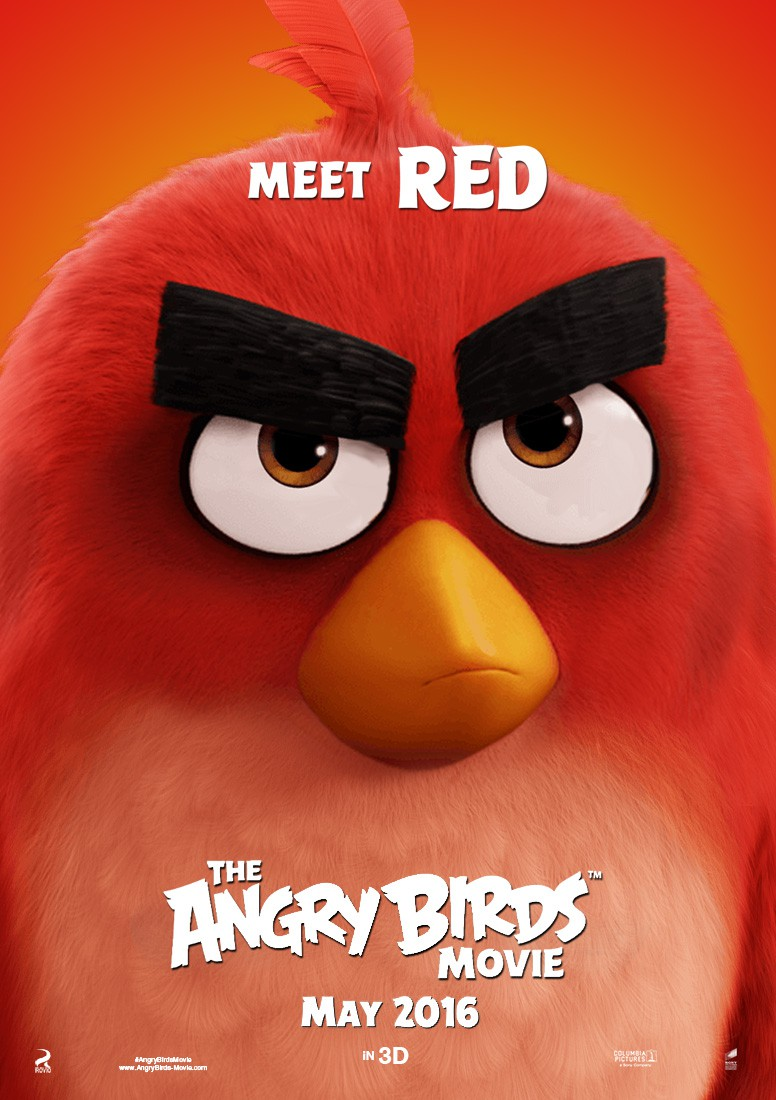 The Angry Birds Movie Character Poster 05