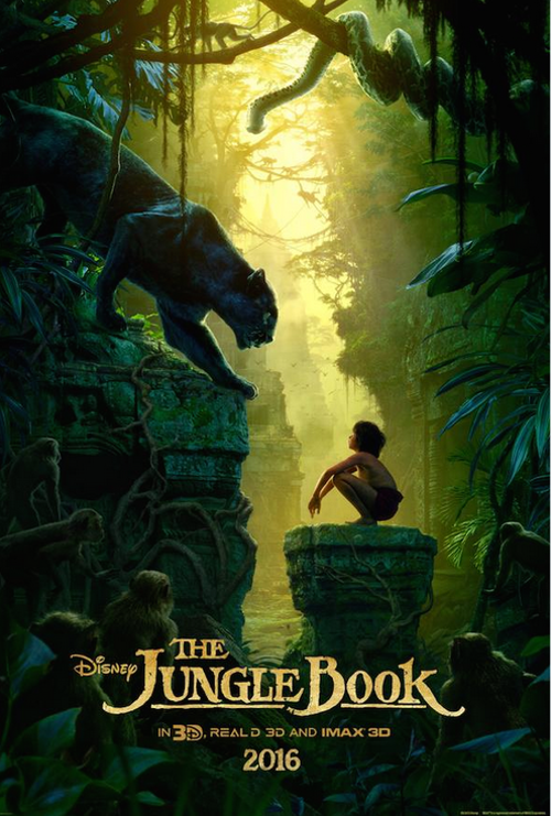the jungle book first disney movie poster