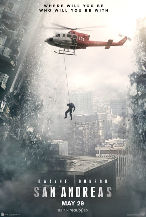 san andreas movie poster 1