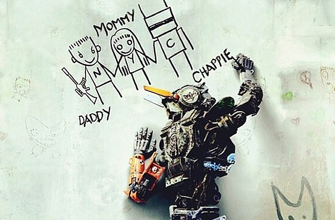Chappie trailer shows off the robot