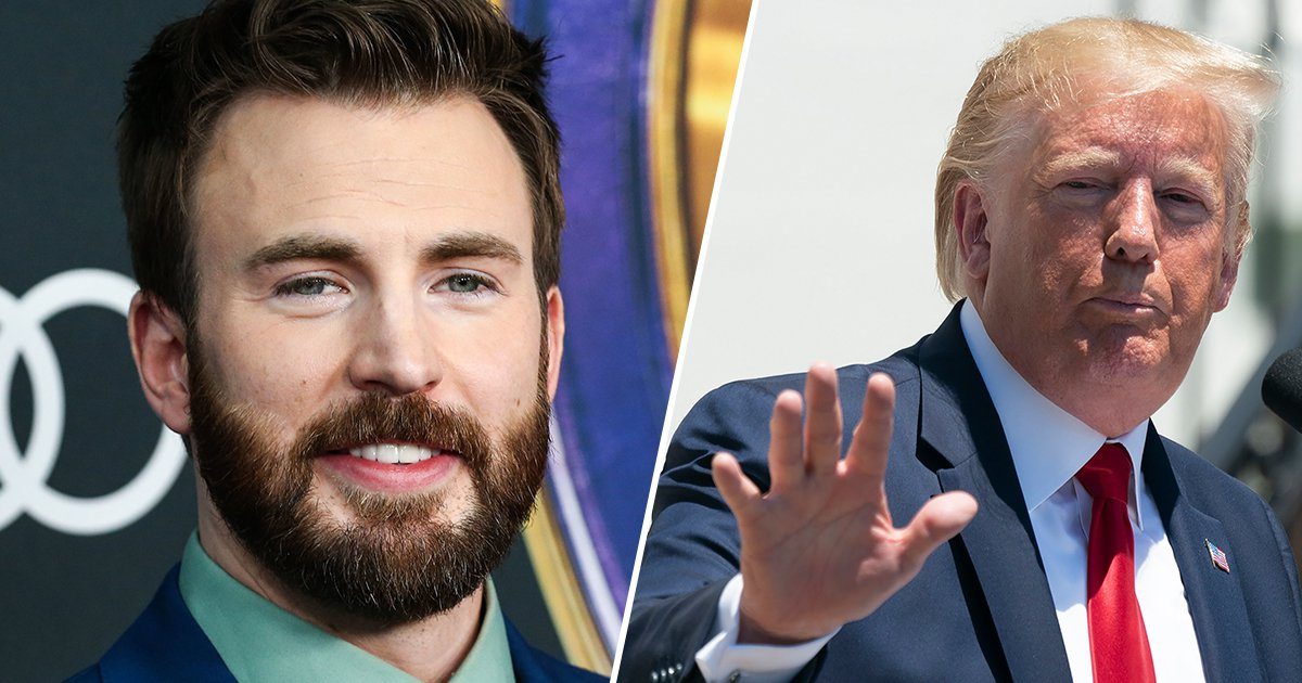 trump chris evans