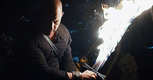 Vin Diesel stars in The Last Witch Hunter