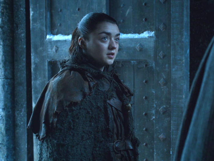 aryas struggle with entering winterfell was a perfect mirror to the first season when she accidentally left the red keep w700