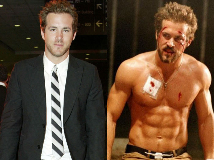 ryan reynolds gained 25 pounds of muscle for blade trinity and kept it on for green lantern w700