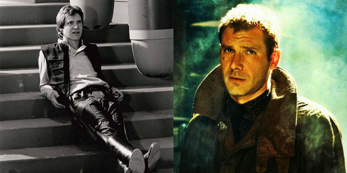 Harrison Ford as Han Solo and Rick Deckard w700