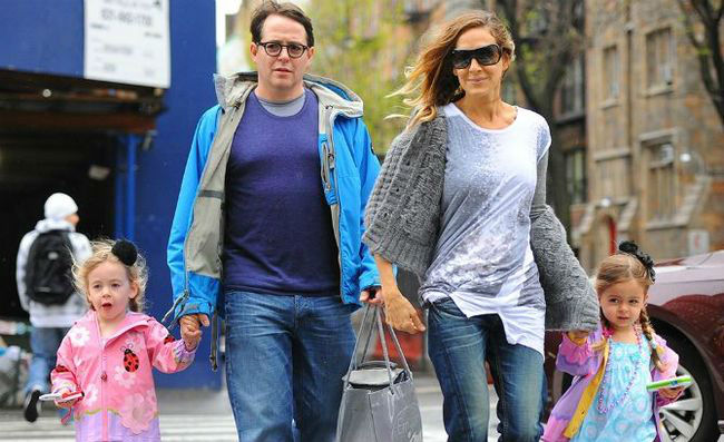 Matthew Broderick Affair Sarah Jessica Parker Twins Rumors Created By Sarah Symonds Denied The Inquisitr GH content 650px w700