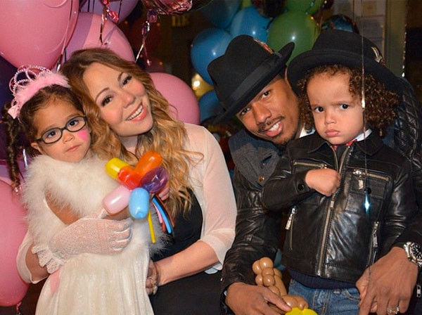 mariah carey nick cannons twins 4 w700