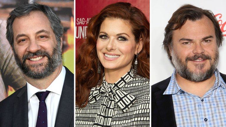 judd apatow debra messing and jack black 22